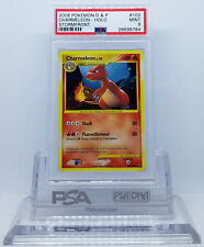 Pokemon DP STORMFRONT CHARMELEON #102/100 SECRET RARE HOLO FOIL PSA 9 MINT #*