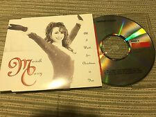 MARIAH CAREY - ALL I WANT IS CHRISTMAS IS YOU CD SINGLE  COLUMBIA 94