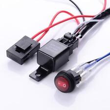 12V 40A Kabelbaum Relais Für 2 LED Arbeitsscheinwerfer ON / OFF Schalter