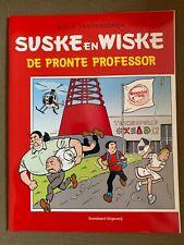 Suske en Wiske Reclame uitgave  - De Pronte Professor - Eerste druk - 2019