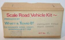 Wyatt & Tizard 4mm Scale White Metal Kit - B1 - Freelance Steam Crane Engine