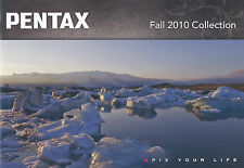 Prospekt Pentax Kamera Collection Fall 2010 Kameraprospekt camera brochure GB