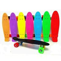 "53cm Traditional Retro Style SKATEBOARD ABEC 7 BEARING 22"" Deck Skate Board T921"