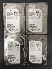 Lot of (4) Seagate Barracuda 500GB 3.5