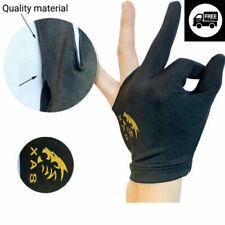 hot Spandex Snooker Billiard Cue Glove Pool Left Hand Three Finger Accessory US
