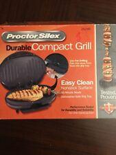 Proctor Silex Hamilton Beach Durable Compact Small Contact Grill 25218P