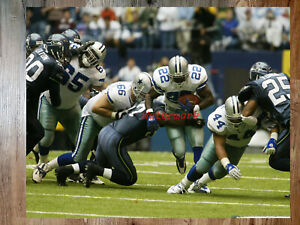NFL Dallas Cowboys RB Emmitt Smith on the Move game Action Color 8 X 10 Photo