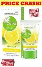 Face Cream LEMON - RUBELA Normal&Dry Skin w/ Whitening/Lightening effect 50ML