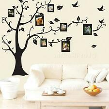 Modern  Home Family Decor Black Tree Removable Wall Decal Sticker Art Vinyl