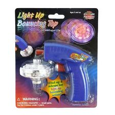 Light Up Spinning Bouncing Top Visual Play Sensory Toy Autism ADHD Tool
