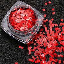1.5g Mixed Round Thin Nail Art Glitter Paillette Nail Tip Art Polish Decoration