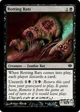 ROTTING RATS Conflux MTG Black Creature — Zombie Rat Com