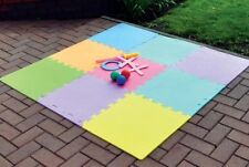 Interlocking EVA Foam Tile Activity Play Mat Floor Safety Protector PLAYM2