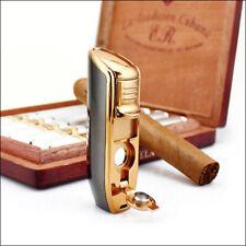 Jobon Triple Torch Flame Butane Cigarette Windproof Jet Lighter (Box Included)