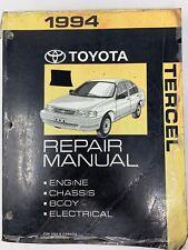 1994 Toyota Tercel Repair Manual