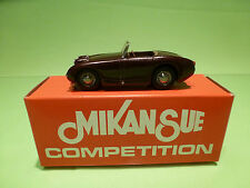 MIKANSUE AUSTIN HEALEY 2 - METAL BUILT KIT 1:43  - RARE SELTEN - GOOD CONDITION