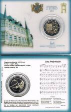 LUXEMBURG - COINCARD 2 € 2013 BU - ONS HEEMECHT