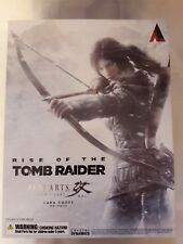 Play Arts Kai Lara Croft Rise of the Tomb Raider Figure (NEW and SEALED)