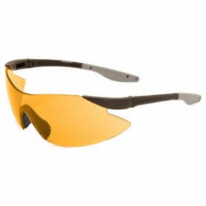 Eyelevel Target Shooting Safety Glasses Orange Anti Glare Lens New