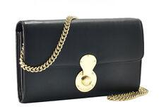 Ralph Lauren Purple Label Soft Ricky Leather Chain Wallet Clutch Bag New $895