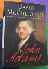 JOHN ADAMS by David McCullough American president patriot HB/DJ