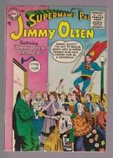 Jimmy Olsen # 8  Jimmy Olsen, Crooner !  grade 4.0 scarce book !
