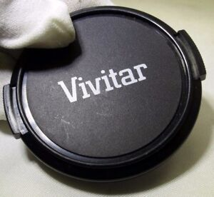 Vivitar 52mm front cap Snap on type plastic  - - -  free shipping worldwide