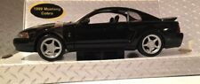 1/24 scale Black 1999 Ford Mustang Cobra diecast model 2000 2001 2002 2003 2004