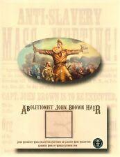 Rare Lock of John Brown's Hair - Abolitionist Who Led Raid on Harper's Ferry