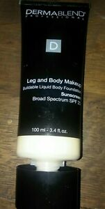 Dermablend Leg and Body Makeup, w/SPF 25 Fair Nude ON exp: 11/21