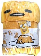 JAPANESE authentic sanrio GUDETAMA kigurumi costume fleece fabric unisex