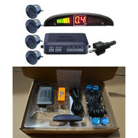 4 Sensors Parking Sensors Auto Car LED Display Reverse Backup Radar System Kit