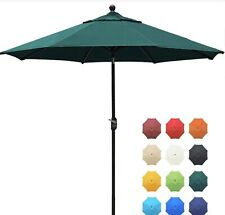 Forest Green Eliteshade 9' Market Patio Umbrella