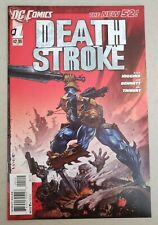 Deathstroke Lot #1 (2011), #3 (2015), #9 (2016) Vf/Nm or better New52/Dcrebirth