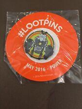 Loot Crate Pin May 2016 Power - Battleborn AI Minion GET IT FAST ~ US SHIPPER