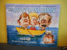 The Gang's Gone Fishin'.. (political cartoons,Newfoundland,Chretien,Clyde Wells)