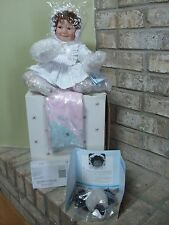 "ASHTON DRAKE DOLL BABY MISS MUFFET 11"" TALL MINT ORIGINAL  BOX PACKAGING #93704"