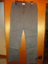 Kate Hill Gray Jeans 8 NWT