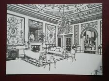 POSTCARD HAMPSHIRE BROADLANDS THE SALOON - PENCIL SKETCH