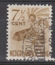 Nederlands Indie 336 CANCEL PROLINGGO Netherlands Indies 1948 Inheemse dansers
