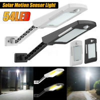 New 54 LED Solar PIR Sensor Light Outdoor Security Lamp for Home Wall Stree