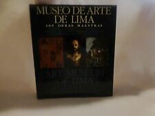 Art Museum of Lima 100 Masterpieces Latino 1st Edition Book Religious Icon Peru