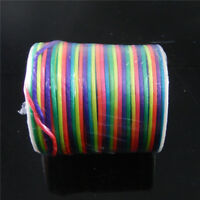 5 Metres Colorful Nylon Cord Bracelet Necklace Jewelry Making Thread Cords 2mm