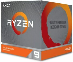 AMD Ryzen 9 3900X Processor (12C/24T, 70 MB Cache, 4.6 GHz Max Boost)- USED