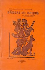 1st Edition.Les Baisers du Marquis.1951.Inscribed.Ltd Edition.Dominique Vecchini