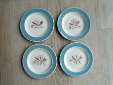 Susie Cooper Pink Campion side plates