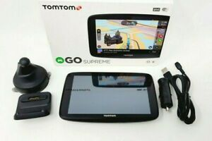 """TomTom GO Supreme 6"""" GPS with Built-In Bluetooth, Map and Traffic Updates -..."""