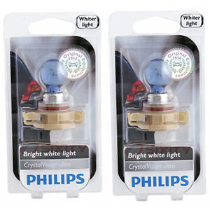 2 pc Philips Front Fog Light Bulbs for Ford Escape Explorer Sport Trac fn