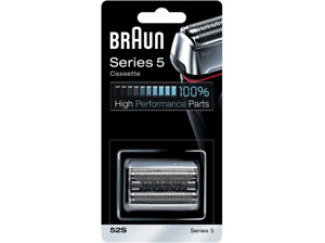 Cabezal De Recambio - Braun, Series 5 52S Para Afeitadora Eléctrica Hombre, Plat