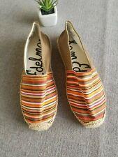 58897f1fe619 SAM EDELMAN Espadrilles Women's 6M Flats Stripes
